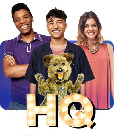 CBBC HQ Brand 2019 Rhys, Karim, Lauren & Hacker