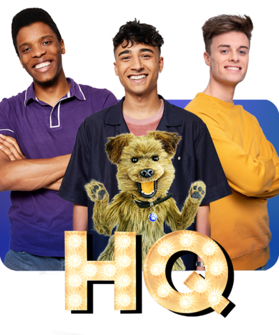 CBBC HQ Branding with Rhys, Hacker, Karim and Joe