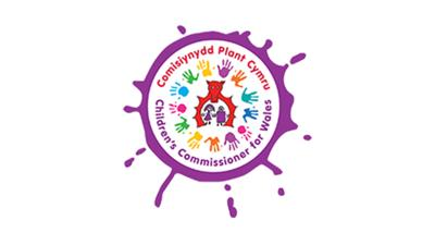Children's Commissioner for Wales logo.