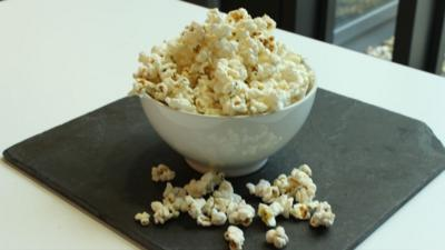 CBBC Dish Up - How to make Air-Popped Microwave Popcorn