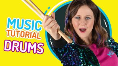 CBBC - How to play the drums with Moxy