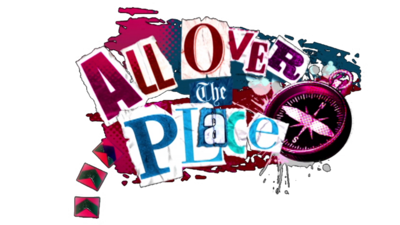 All Over the Place logo.