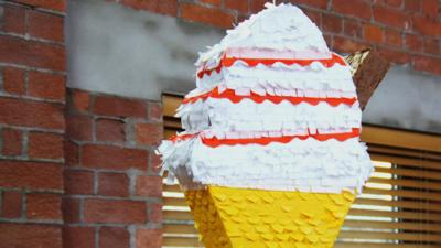 Art Ninja - Make a cool ice cream piñata