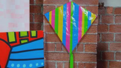 Art Ninja - Make a superhero kite