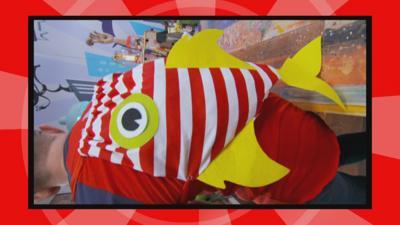 Art Ninja - Make a fin-tastic piranha bag