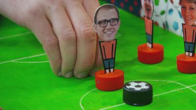 Art Ninja - Make a football game from a pizza box