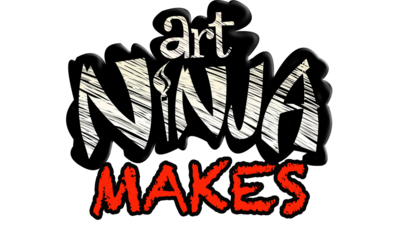 Art Ninja Makes logo