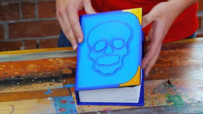 Art Ninja - Make a super secret pirate book