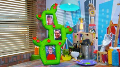 Art Ninja - Make a cactus photo frame