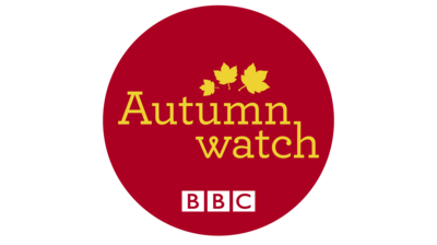 Autumn watch logo in a red circle.