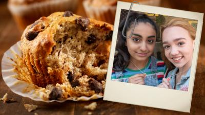 Holly Hobbie - Make Holly's choco-chip banana muffins