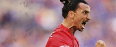 Zlatan Ibrahimovi\u0107 looking angry.