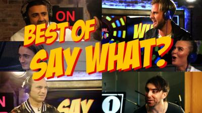 CBBC Official Chart Show - Best of 'Say What?'