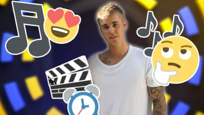 CBBC Official Chart Show - Quiz: Can you guess the Bieber song?