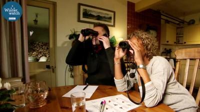 Winterwatch on CBBC - Winterwatch presenters go head-to-head