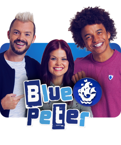 Blue Peter: Barney, Lindsey and Radzi