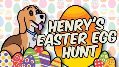 Blue Peter - Henry's Easter egg hunt