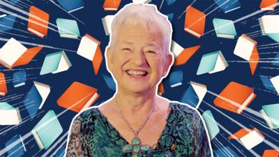 Blue Peter - Meet Jacqueline Wilson in a minute
