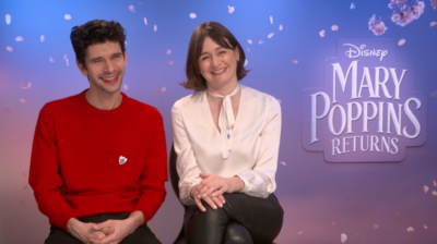 Blue Peter - Mary Poppins Returns Cast Challenge