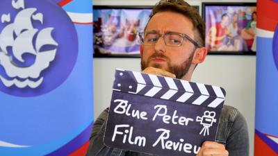 Blue Peter - Ali Plumb reads your reviews