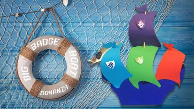 Blue Peter - Big Badge Boat Bonanza