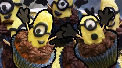 Blue Peter - Banana Minion Muffins