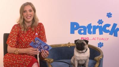 Blue Peter - We meet the stars of the film Patrick