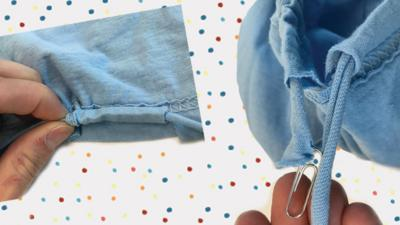 Steps to make a tote bag