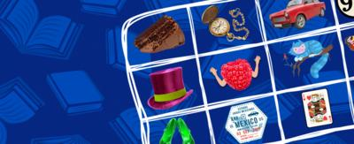 Blue Peter Book Bingo promo images