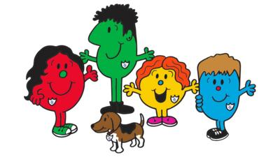 Blue Peter - Mr Men and Little Miss get a Blue Peter surprise