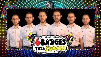 Blue Peter - Brett Domino: 6 Badges of Summer Song