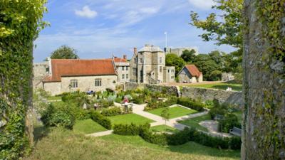 The Princess Beatrice Gardens at Carisbrooke Castle