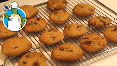 Blue Peter - How to make chocolate chip cookies