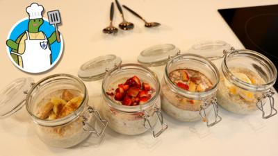 Blue Peter - How to make overnight oats