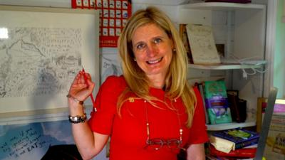 Blue Peter - Cressida Cowell: New Children's Laureate