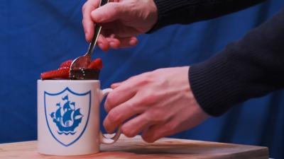 Blue Peter - Bake a chocolate mug cake