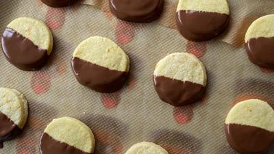 Blue Peter - Chocolate and Orange Shortbread