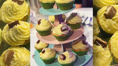 Blue Peter - Nikki Lilly's coconut and lime cupcakes