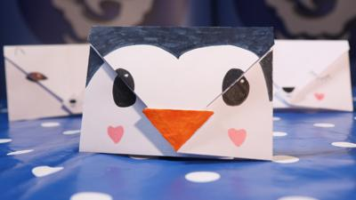 Blue Peter - Make an Animal Envelope Message