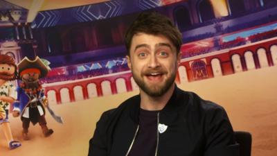 Blue Peter - Daniel Radcliffe talks Playmobil: The Movie