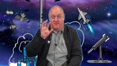Blue Peter - Dara O'Briain's amazing space facts