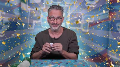 Blue Peter - David Baddiel's birthday present challenge