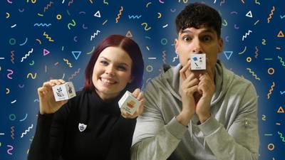 Blue Peter - Story dice challenge