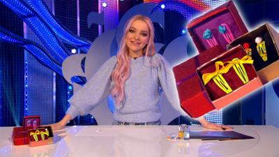 Blue Peter - Dove Cameron hair clip make