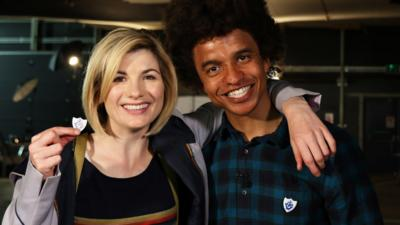 Blue Peter - Doctor Who: Making a wax figure