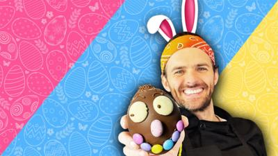 Blue Peter - Make your own Easter egg!
