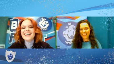 Blue Peter - This or That with Dani Harmer