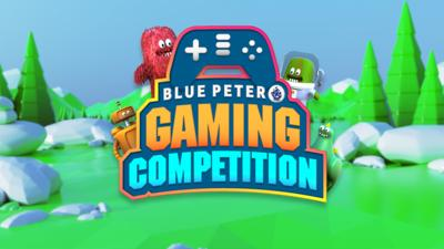Blue Peter gaming competition image.