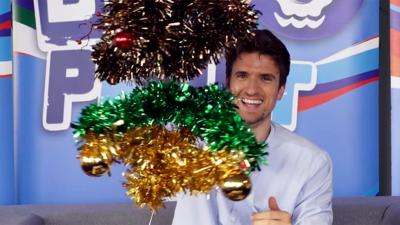 Blue Peter - Celebs attempt classic Blue Peter makes