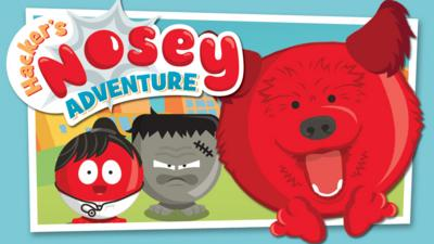 Blue Peter - Hacker's Nosey Adventure Game